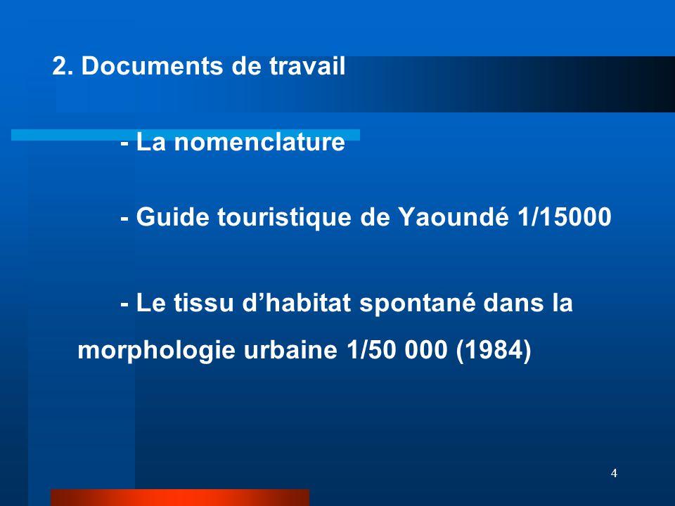 5 3.Méthodologie 1. Présentation de la logique d'élaboration de la nomenclature 2.
