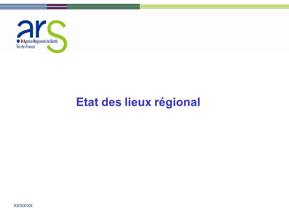 XX/XX/XX Etat des lieux régional