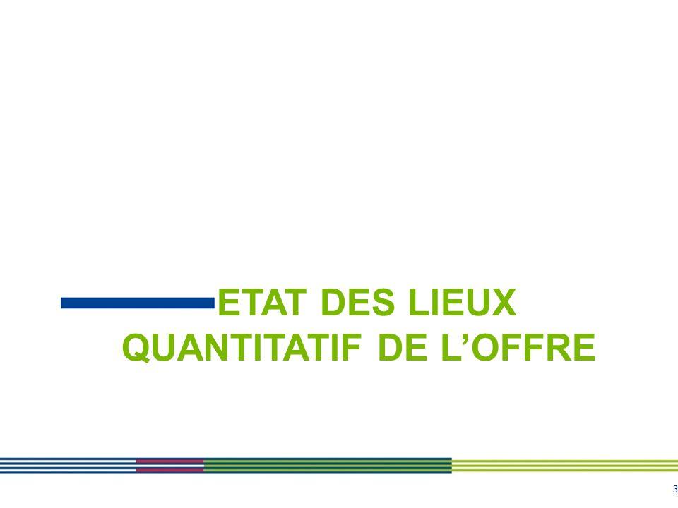 33 ETAT DES LIEUX QUANTITATIF DE L'OFFRE