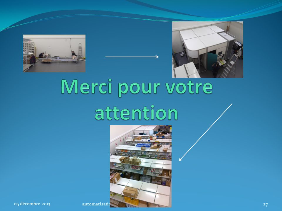 automatisation CHBS27 05 décembre 2013