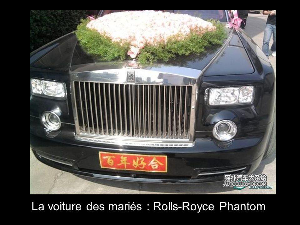 La voiture des mariés : Rolls-Royce Phantom