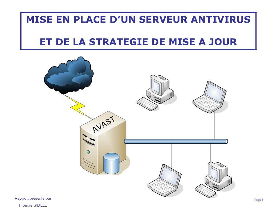 Page 15 Rapport présenté par Thomas SIBILLE Contrôleur de domaine Samba/LDAP Configuration de Bind 9 Fichier de configuration principal : /etc/bind/named.conf.local # Zone Directe zone interver.fr { type master; # fichier de configuration de la zone file /etc/bind/interver.fr.hosts ; }; # Zone Inverse zone 192.in-addr.arpa { type master; file /etc/bind/192.rev ; }; Structure des enregistrements : interver.fr.