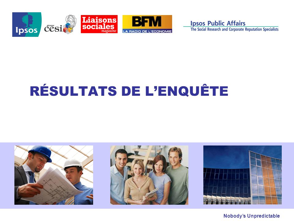 CESI / Liaisons sociales / Ipsos – Observatoire des Acteurs de l'Entreprise- Octobre 2009 © 2009 Ipsos 4 Santé de l'entreprise Question : Pour les 6 mois à venir, diriez-vous de votre entreprise…..
