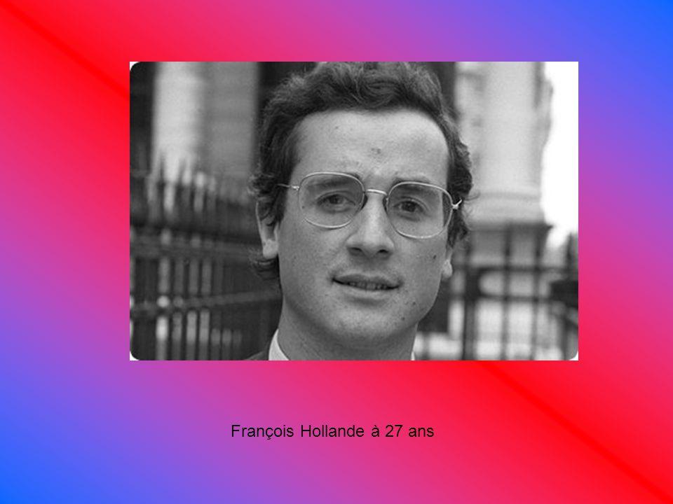 François Hollande à 27 ans