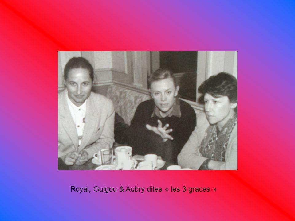 Royal, Guigou & Aubry dites « les 3 graces »