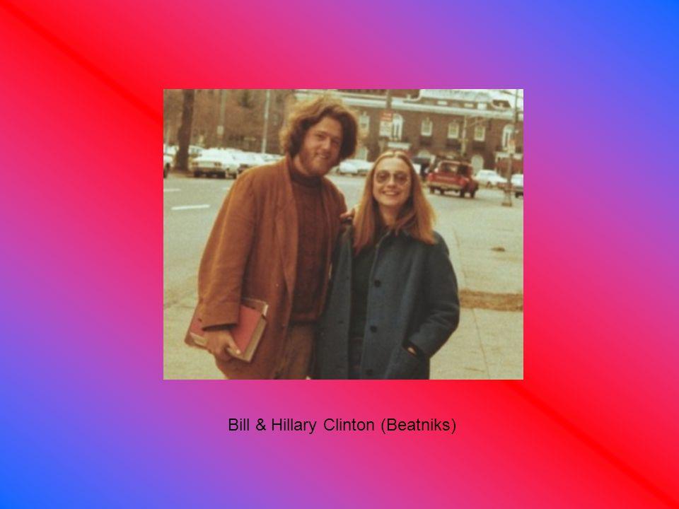 Bill & Hillary Clinton (Beatniks)