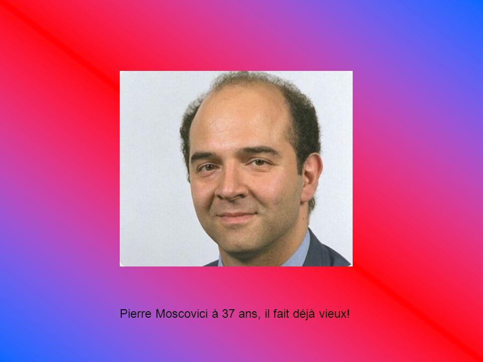 Pierre Moscovici à 37 ans, il fait déjà vieux!