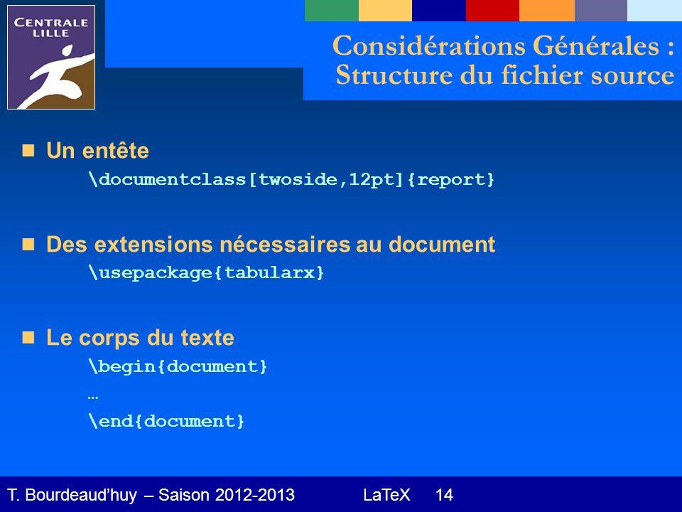 LaTeX 14 T.