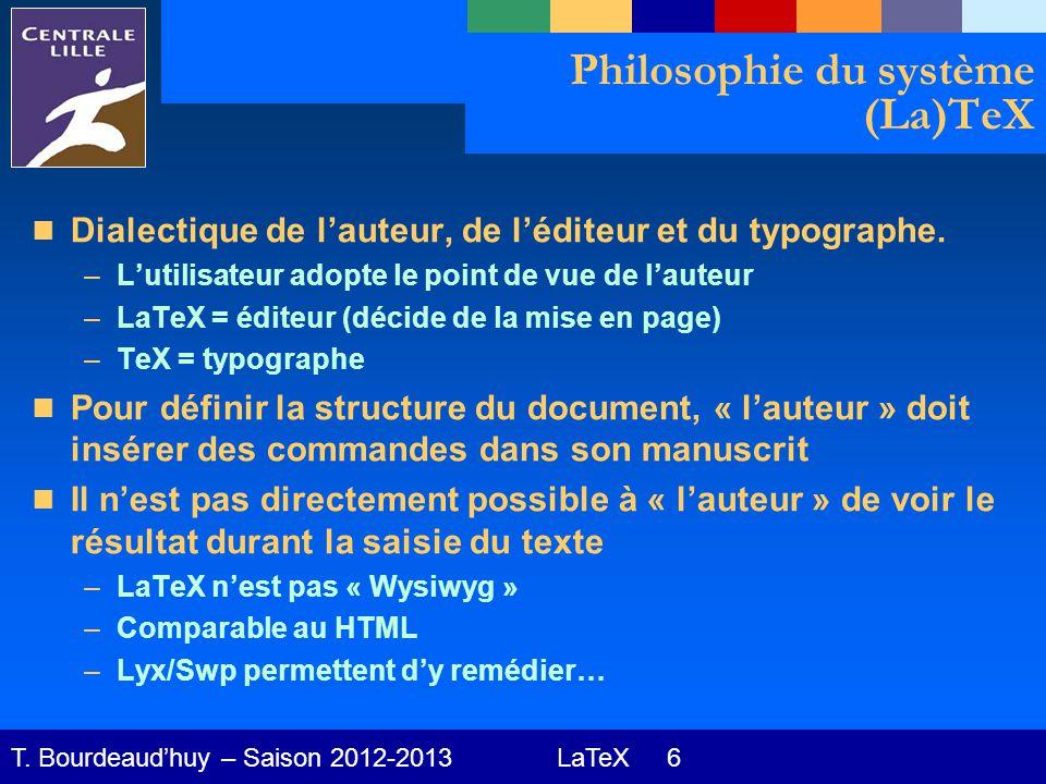 LaTeX 17 T.