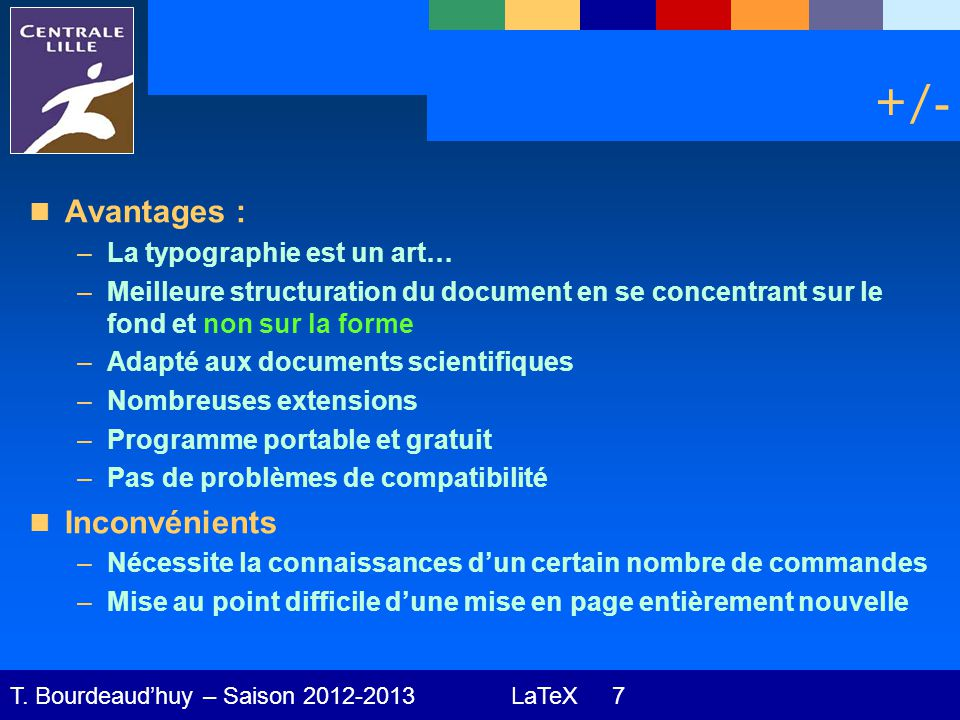 LaTeX 18 T.