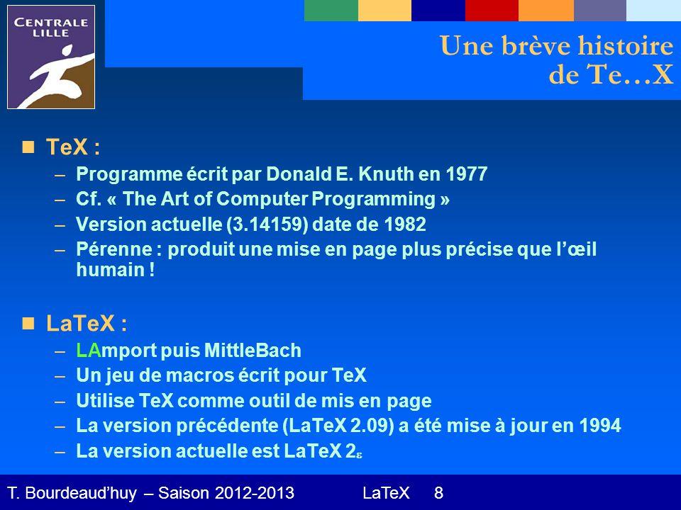 LaTeX 19 T.