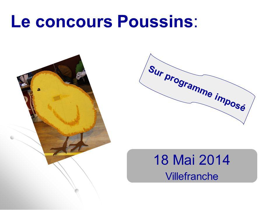 Le concours Poussins: 18 Mai 2014 Villefranche Sur programme imposé