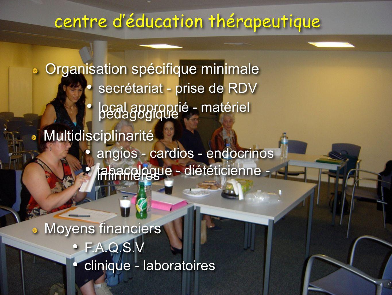 Organisation spécifique minimale secrétariat - prise de RDV local approprié - matériel pédagogique Organisation spécifique minimale secrétariat - pris