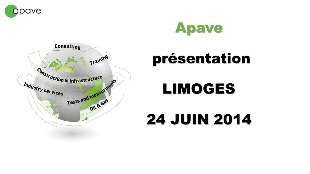 Apave présentation LIMOGES 24 JUIN 2014