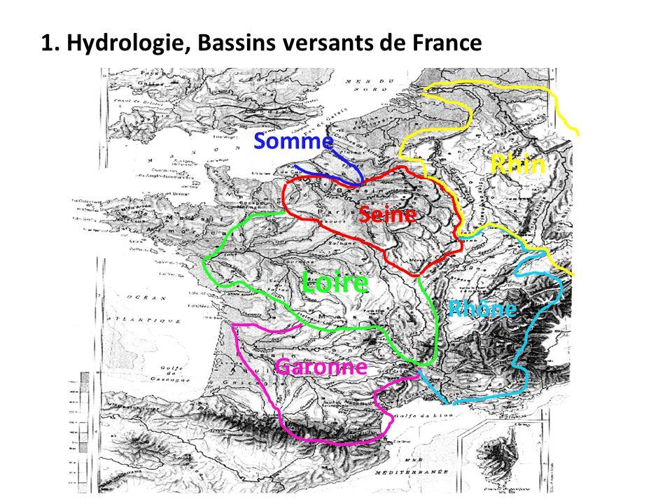 Seine Loire Garonne Rhône Rhin Somme
