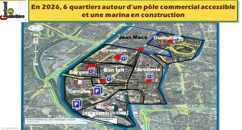 Le 22/08/2014 http://www.ucil.fr/commissions-2/ecologie-urbaine En 2026, 6 quartiers autour d'un pôle commercial accessible et une marina en construct
