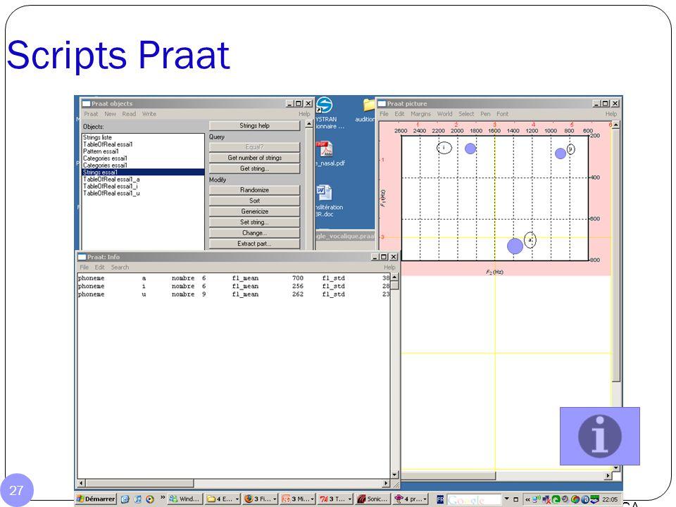 Utilisation d'une WebCam pour la correction labiale Audition Poste Ingénieur de l'ILPGA 26