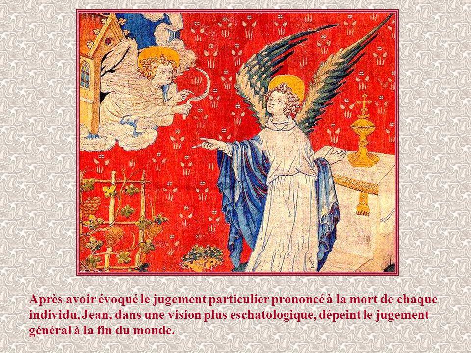 « Un autre ange le suivit et dit : « Elle est tombée, Babylone la grande, elle qui a abreuvé toutes les nations du vin de sa fureur et de sa prostitution.