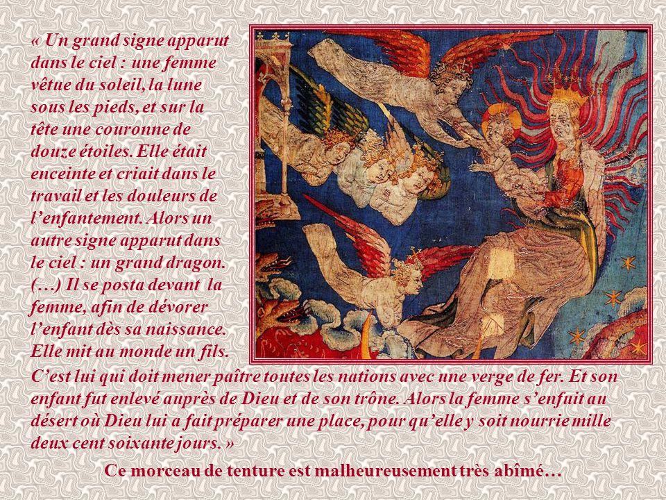 Après la dernière trompette, ici commence, selon les commentateurs, une nouvelle section du texte apocalyptique, qui reprend et explique, mais essenti