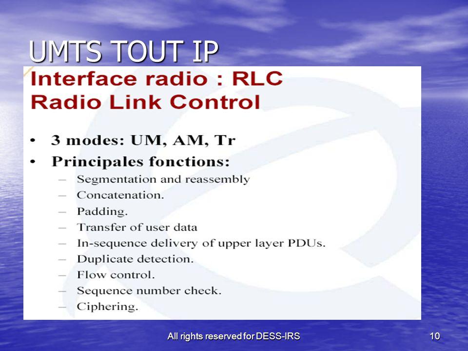 10 UMTS TOUT IP