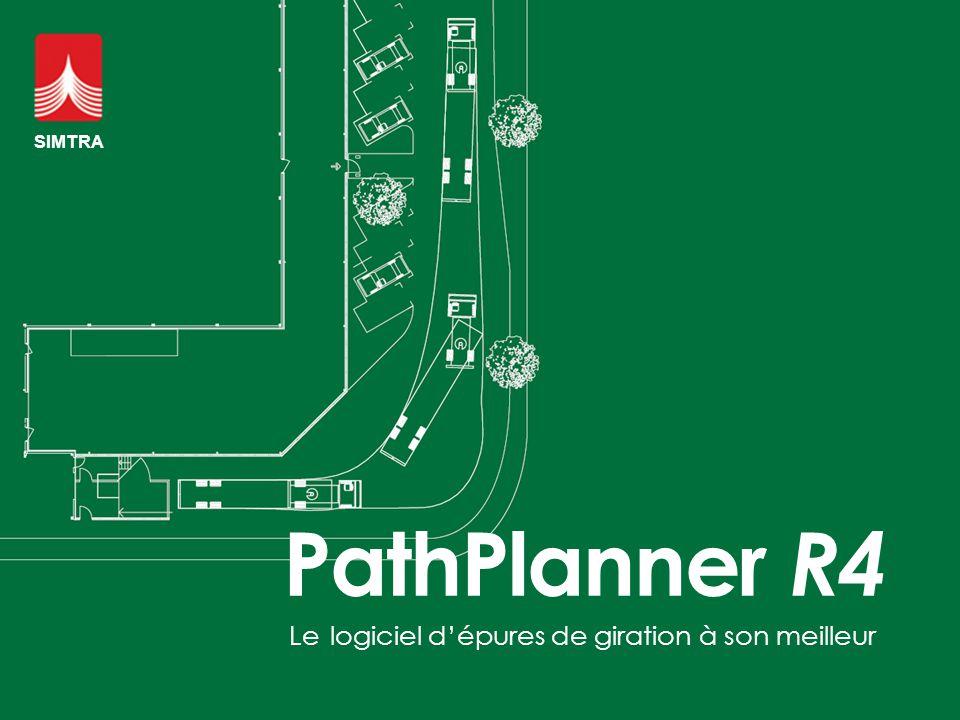 Le logiciel d'épures de giration à son meilleur PathPlanner R4 SIMTRA