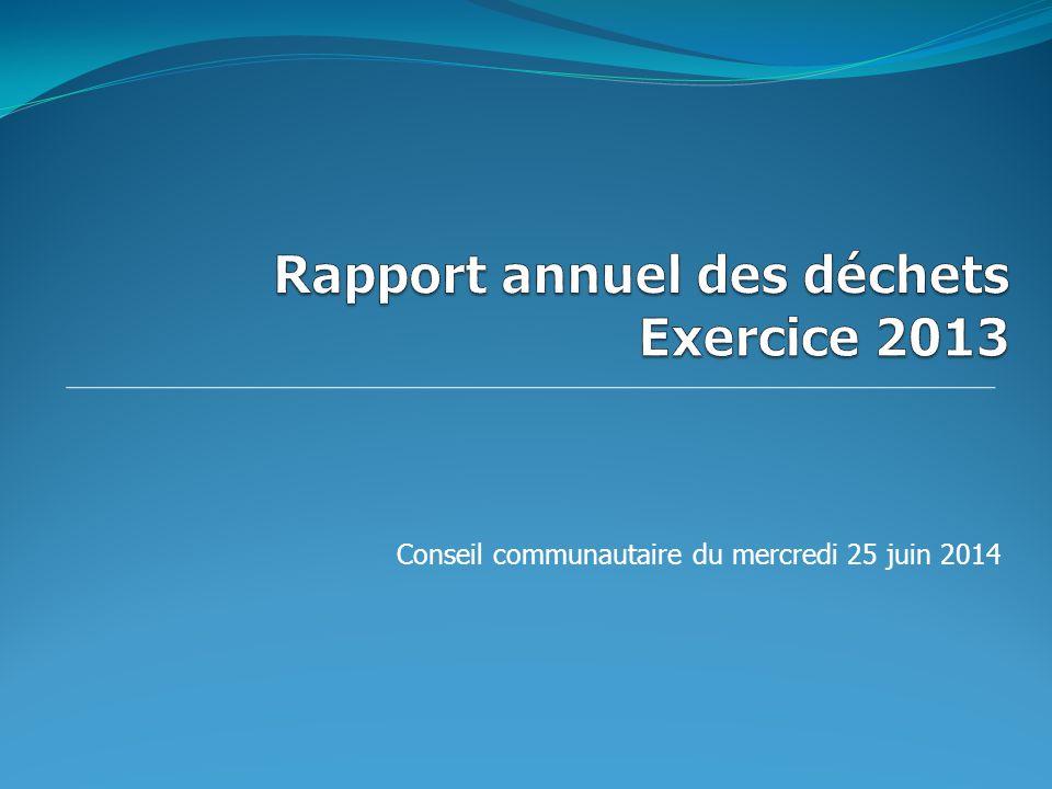 Conseil communautaire du mercredi 25 juin 2014