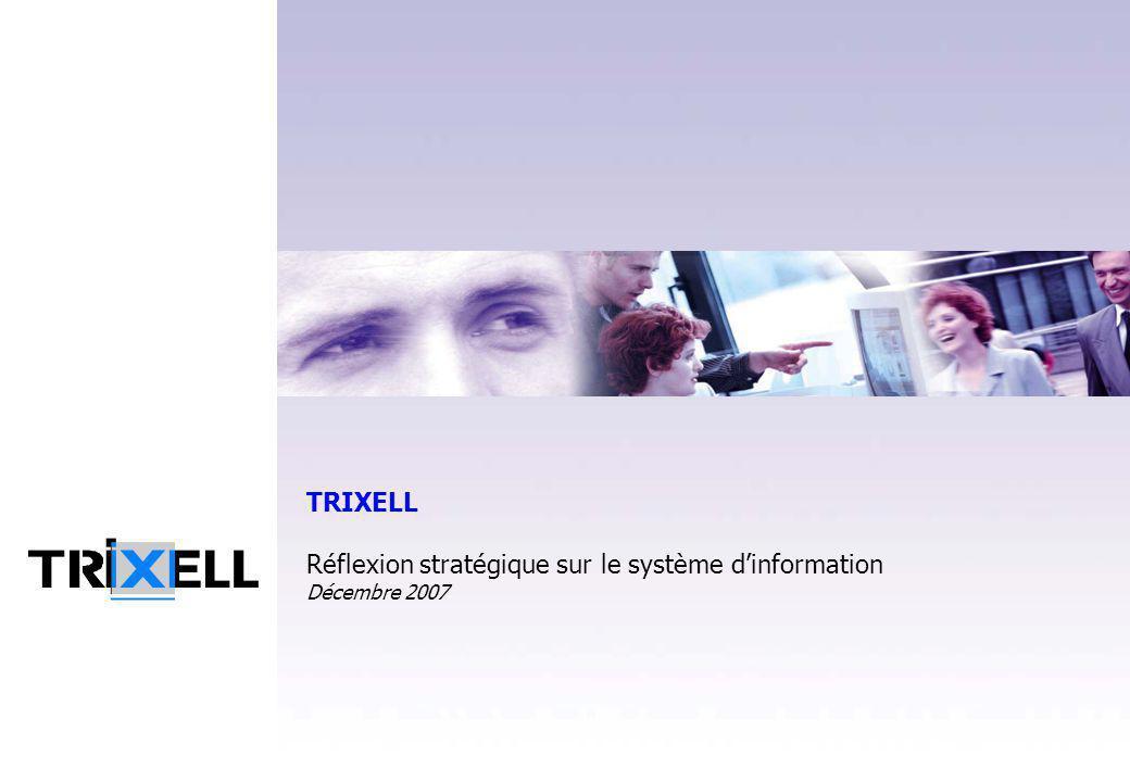 TRIXELL Réflexion stratégique sur le système d'information Décembre 2007