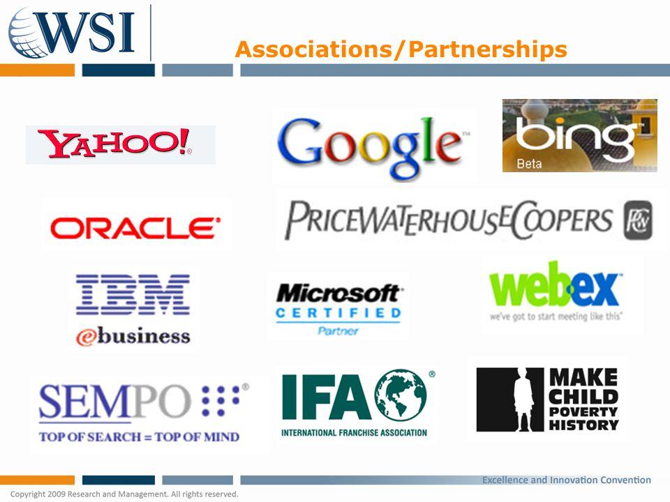 Associations/Partnerships