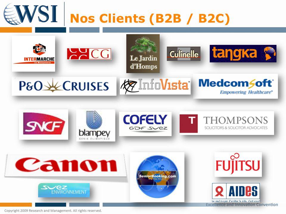 Nos Clients (B2B / B2C)