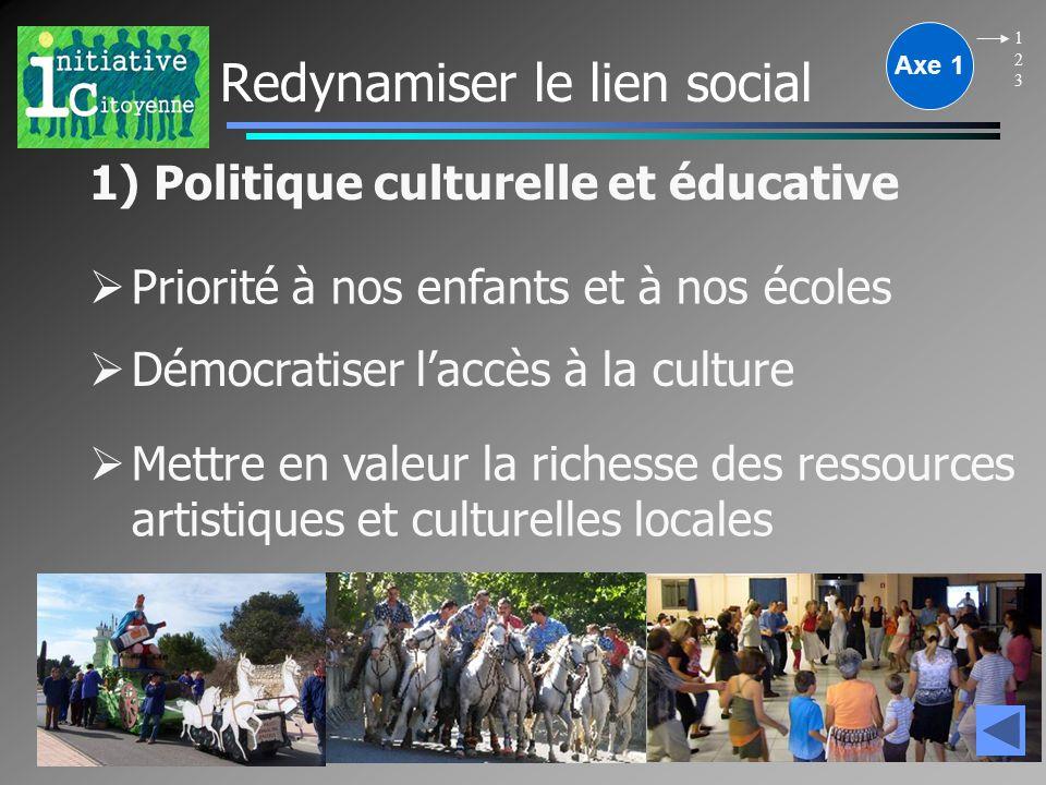Dialogue citoyen Renouveler les pratiques politiques par le dialogue avec les citoyens et une communication respectueuse de tous Axe 4