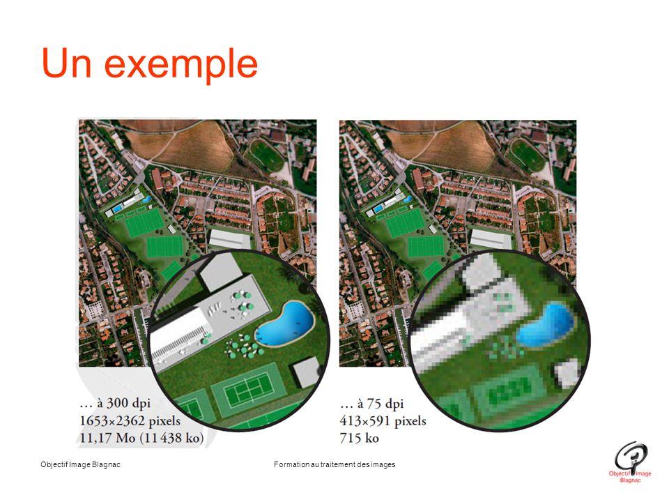 Objectif Image BlagnacFormation au traitement des images Un exemple