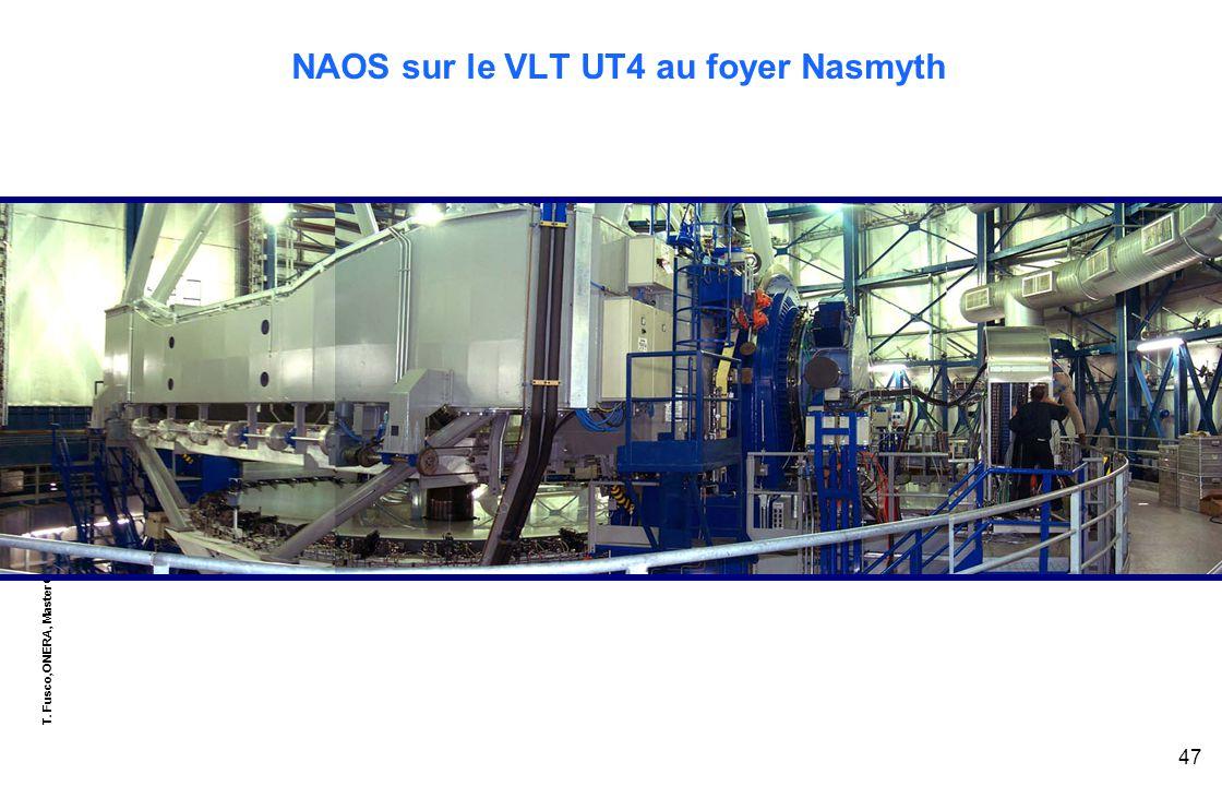 T. Fusco,ONERA, Master OPSI - EU8, module « optique adaptative » 47 NAOS sur le VLT UT4 au foyer Nasmyth