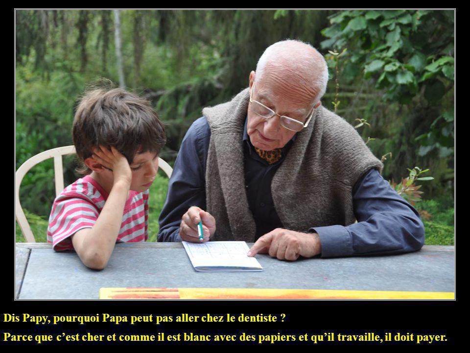 Dis Papy, ça veut dire quoi se faire empapaouter ? Cela veut dire avoir voté pour François Hollande.