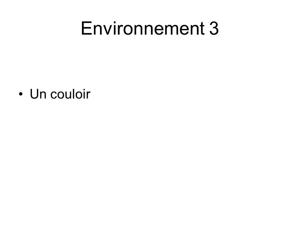 Environnement 3 Un couloir