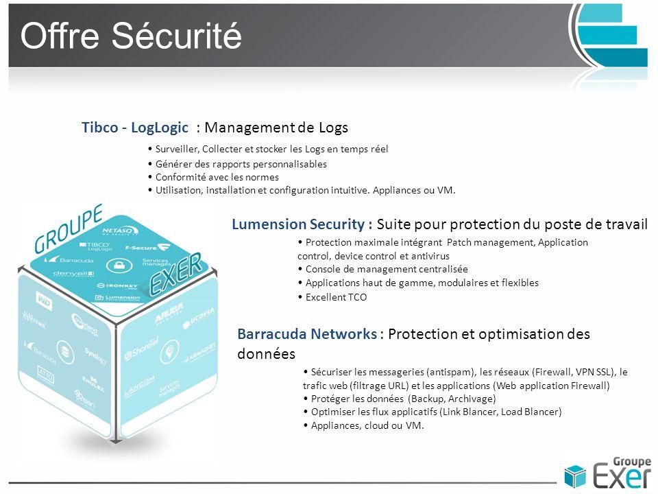 Offre Mobilité Aruba networks : Sécuriser et Optimiser la mobilité en Entreprise Infrastructure WiFi sécurisée Accès sécurisé aux réseaux de l'entreprise en fonction des profils utilisateurs à partir de n'importe où et de n'importe quel device (WiFi ou filaire) Interface d'administration en mode hébergé Déploiement simple avec les réseaux existants.