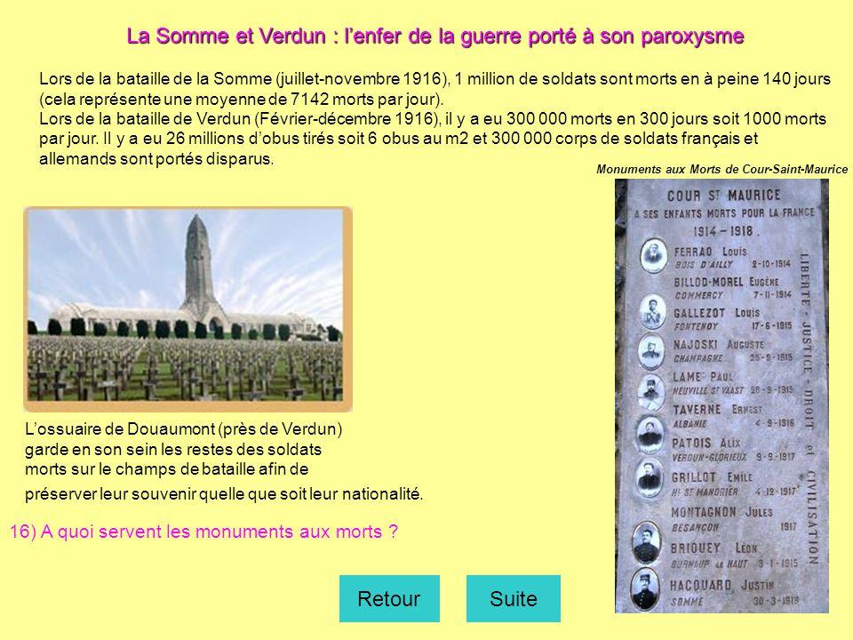 Photographie extraite du site www.cheminsdememoire.gouv.fr Tableau de Georges Scott, 1916, Musée de l'armée Vincennes Ptolemaia d''après carte La voie sacrée.