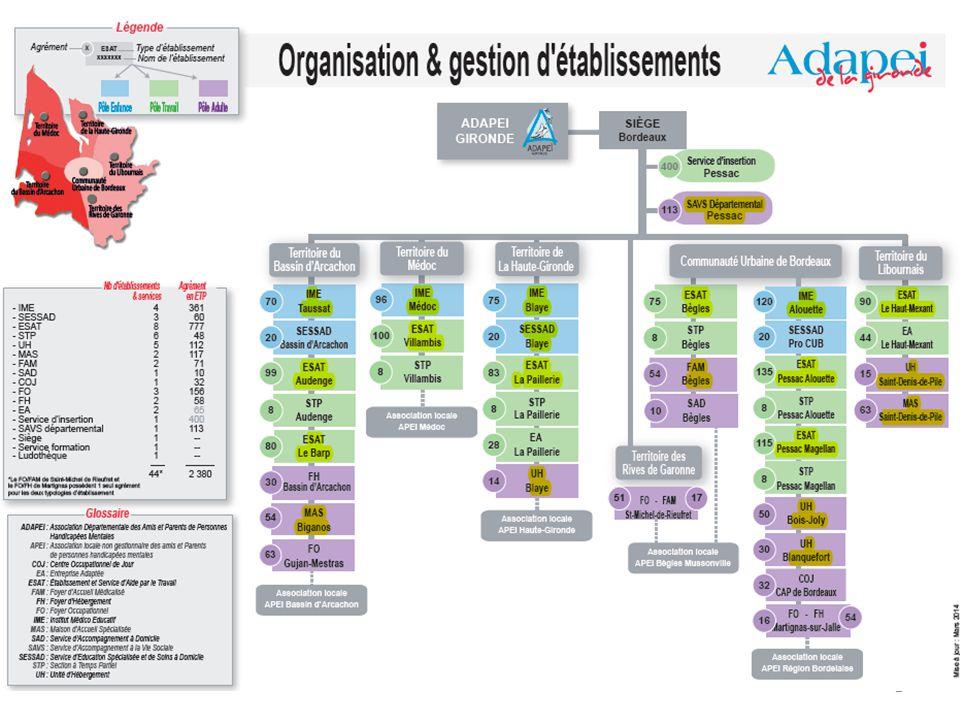 Le contexte de l'ADAPEI de la Gironde 2