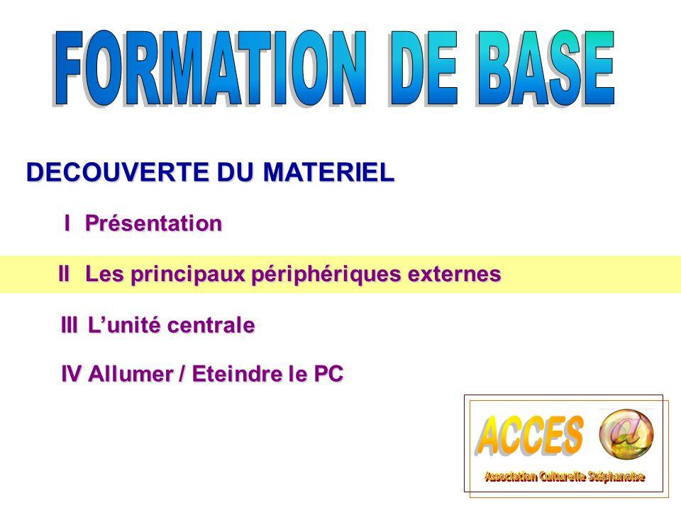 Le disque dur La mémoire permanente Le disque dur est un support composé de disques magnétiques sur lesquels on peut stocker de très grandes quantités d informations.