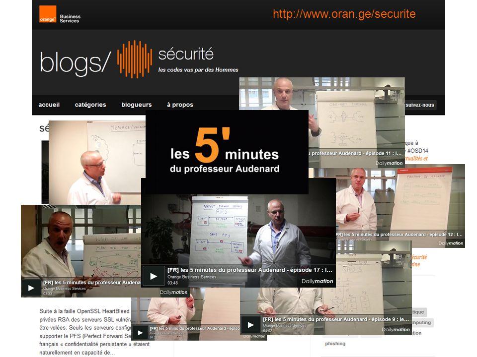Orange - diffusion libre - page #15 http://www.oran.ge/securite