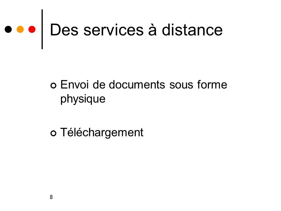 19 La communication et la médiation Qui en front office .