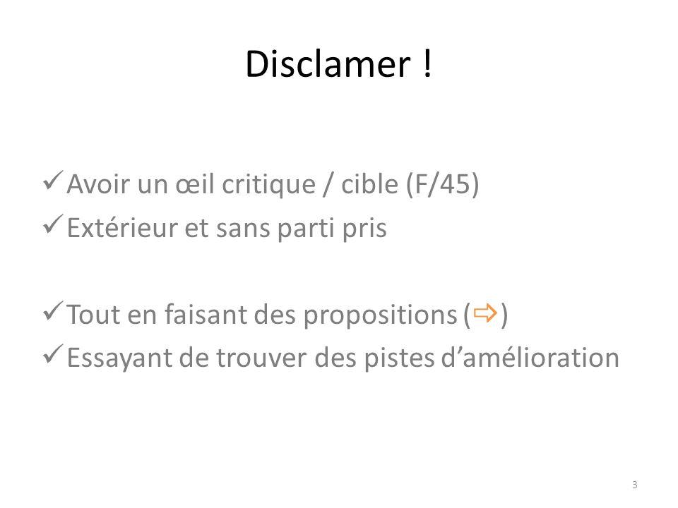Disclamer .