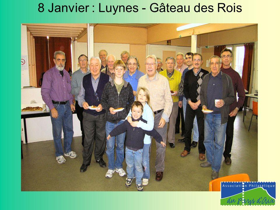 8 Janvier : Luynes - Gâteau des Rois