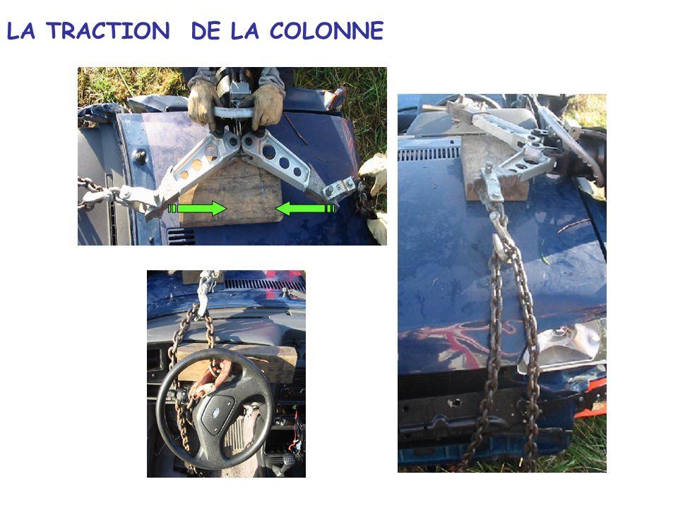LA TRACTION DE LA COLONNE