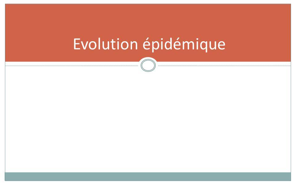 Evolution épidémique