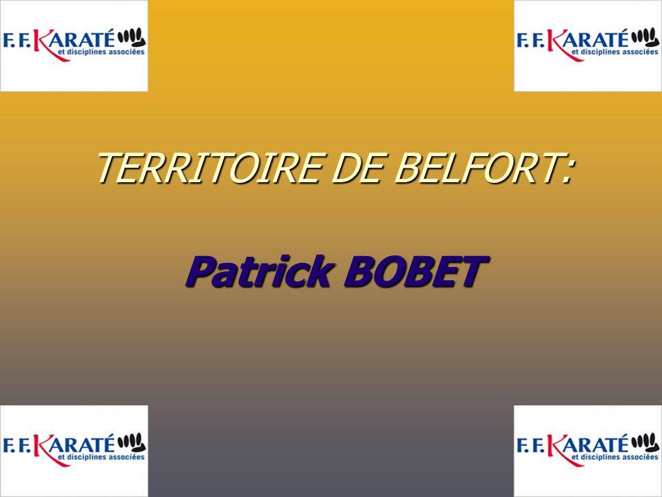 TERRITOIRE DE BELFORT: Patrick BOBET