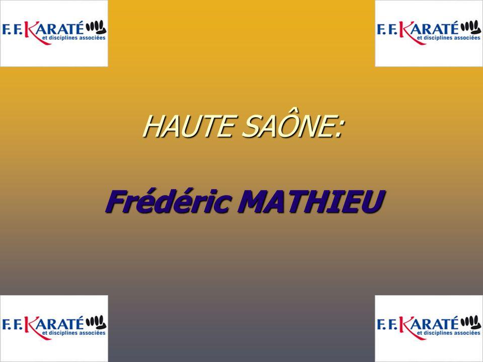 HAUTE SAÔNE: Frédéric MATHIEU