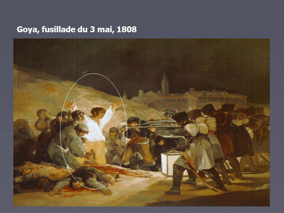 Goya, fusillade du 3 mai, 1808