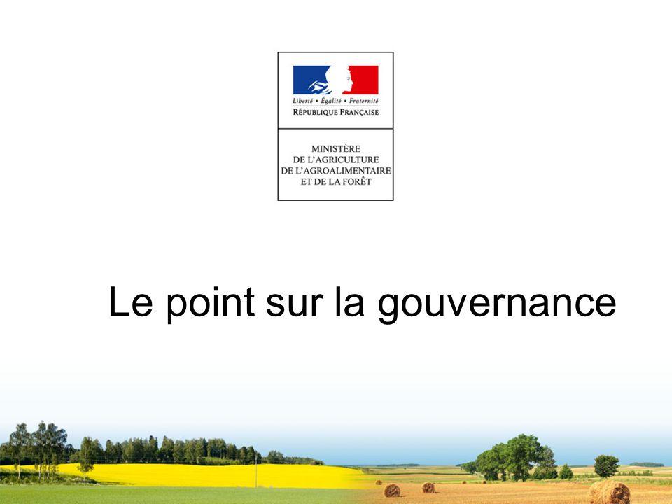 Le point sur la gouvernance