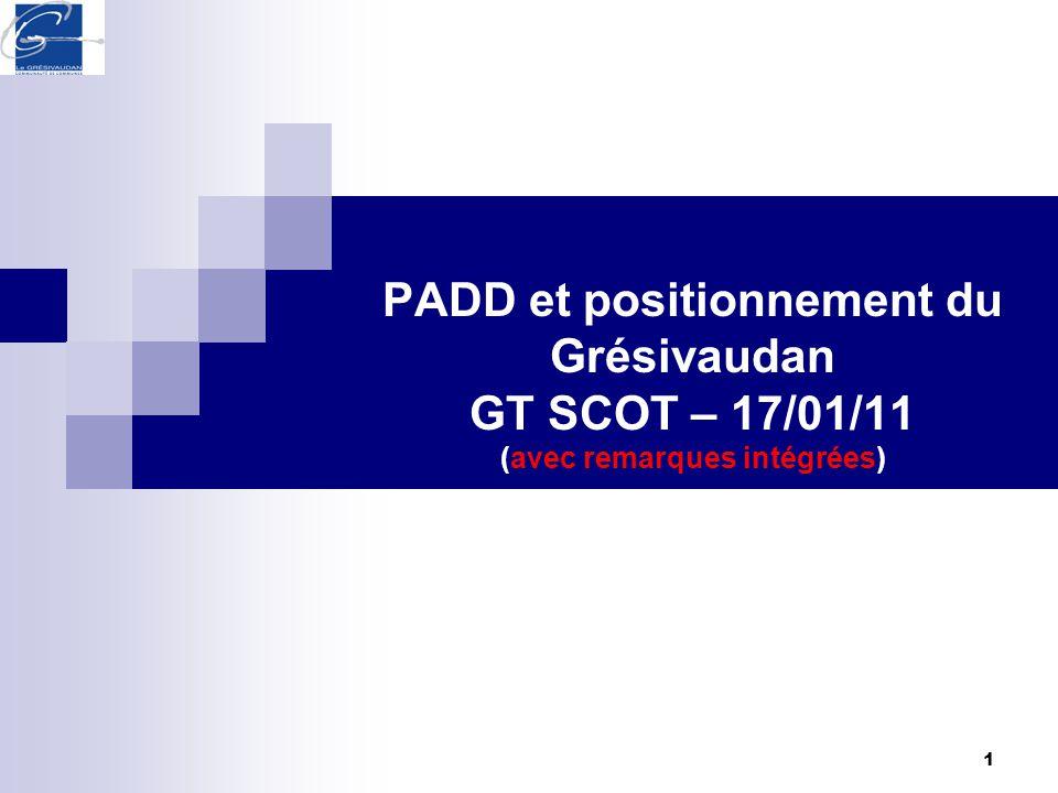 1 PADD et positionnement du Grésivaudan GT SCOT – 17/01/11 (avec remarques intégrées)