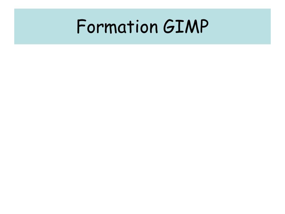Formation GIMP